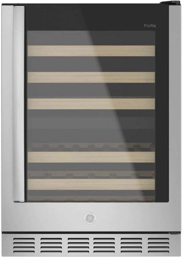 GE Profile™ 4.8 Cu. Ft. Stainless Steel Wine Center-PWS06DSPSS