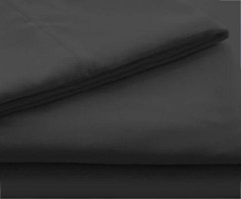 Malouf® Sleep Woven® Brushed Microfiber Black Twin Sheet Set-MA90TTBKMS