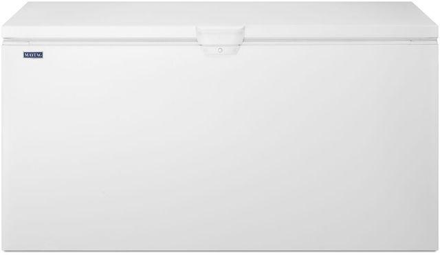 Maytag® 22 Cu. Ft. White Chest Freezer-MZC3122FW