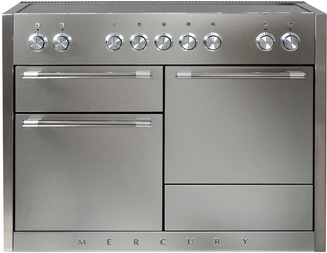"""AGA Mercury 48"""" Stainless Steel Electric Induction Range-AMC48IN-SS"""