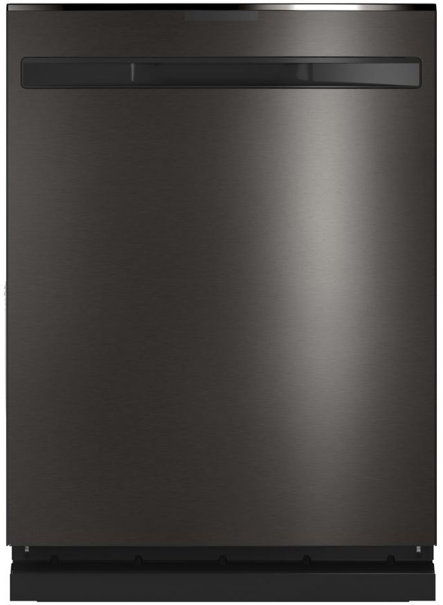 """GE Profile™ 24"""" Black Stainless Built In Dishwasher-PDP715SBNTS"""