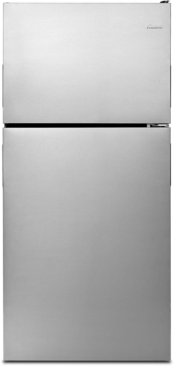 Amana® 18.15 Cu. Ft. Stainless Steel Top Freezer Refrigerator-ART318FFDS