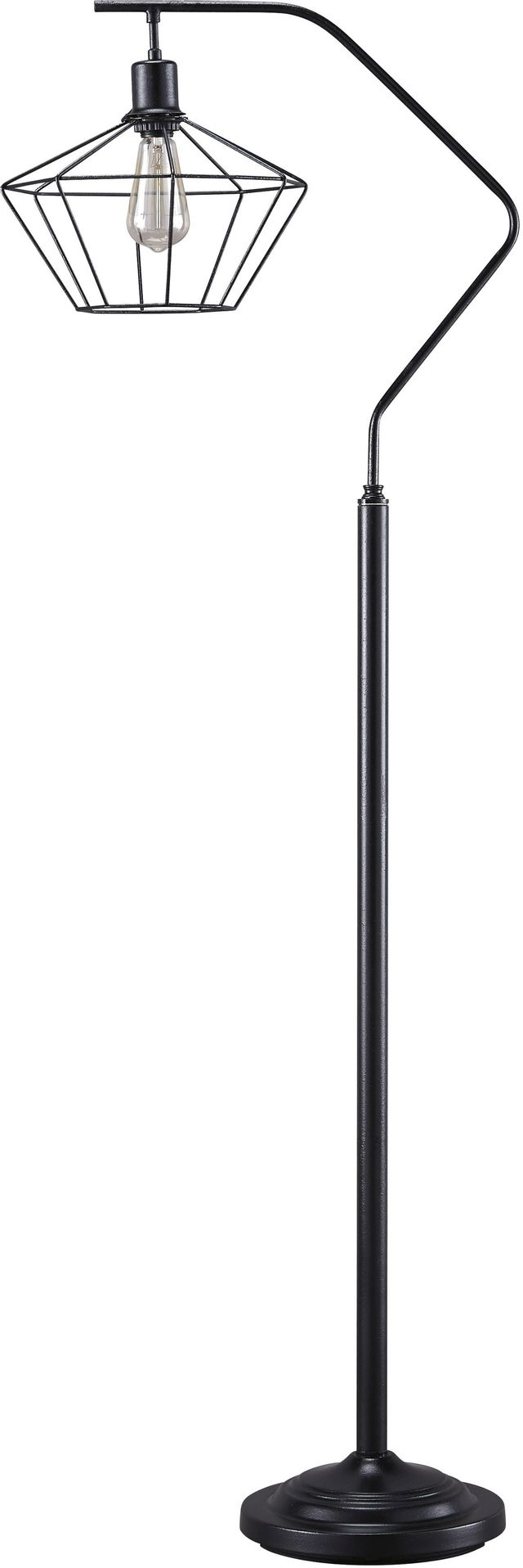 Signature Design by Ashley® Makeika Black Metal Floor Lamp-L207181