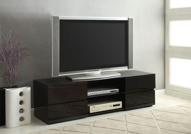 Coaster® Black TV Stand-700841