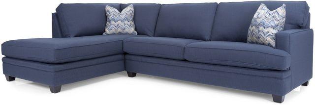 Sectionnel 2 morceaux en tissu Decor-Rest®-2696-41-16-BLUE