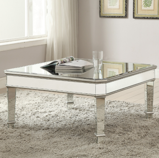 Coaster® 70393 Mirrored Coffee Table-703938