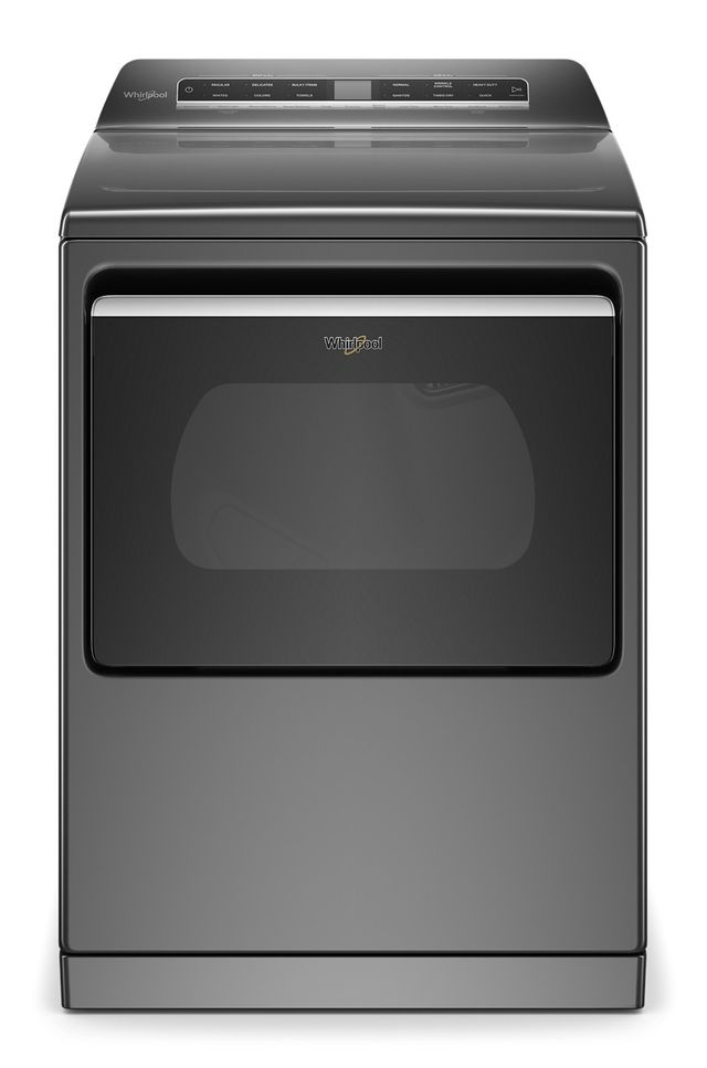 Whirlpool® 7.4 Cu. Ft. Chrome Shadow Front Load Electric Dryer-WED7120HC