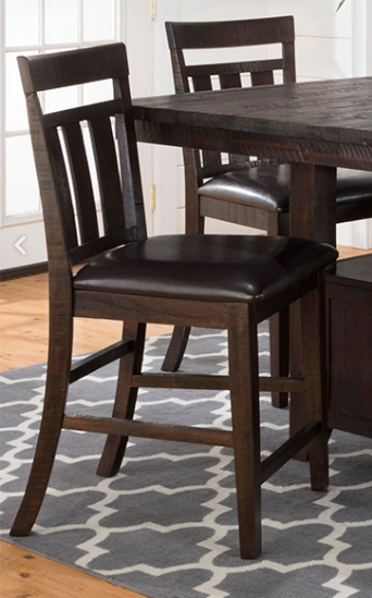 Jofran Inc. Kona Grove Upholstered Stool-705-BS410KD