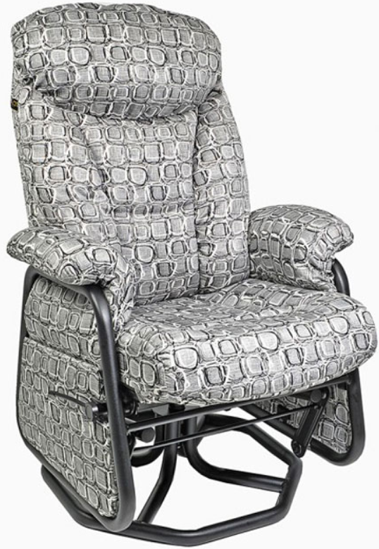 Fauteuil inclinable PEL en tissu gris PEL International®-113517