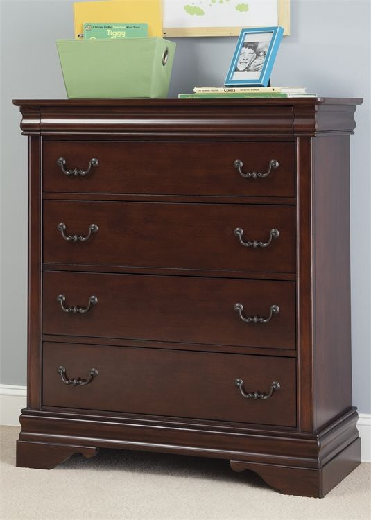 Liberty Furniture Carriage Court Mahogany Youth 5 Drawer Chest-709-BR40