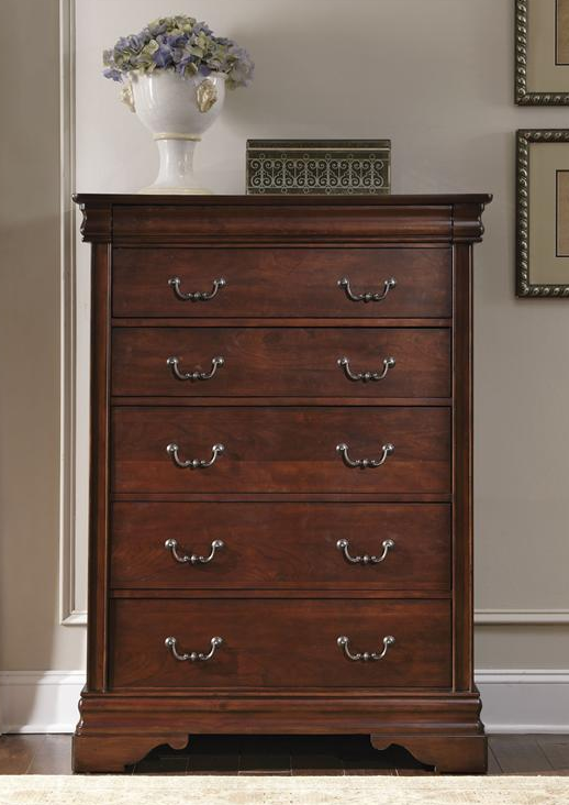 Liberty Furniture Carriage Court Mahogany 6 Drawer Chest-709-BR41