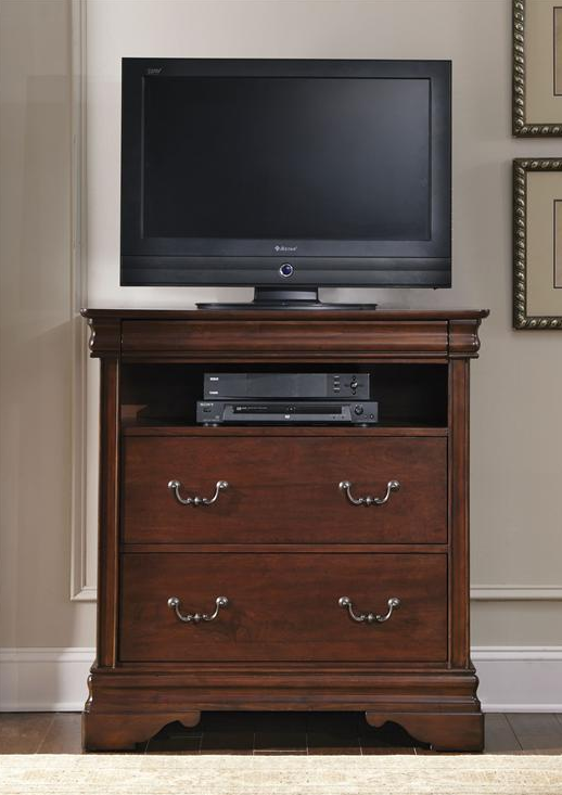 Liberty Furniture Carriage Court Mahogany Media Chest-709-BR45