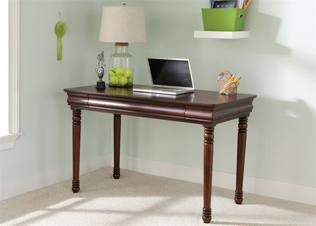 Liberty Furniture Carriage Court Mahogany Youth Student Desk-709-BR70