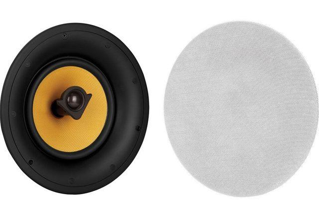 "Crestron® Essence® 8"" 2-Way In-Ceiling Speakers-ESSENCE IC8-W-T"
