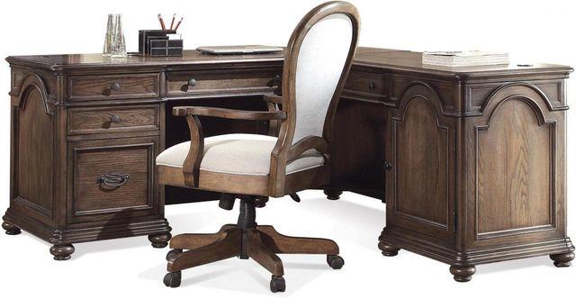 Riverside Furniture Belmeade L Desk & Return-15832