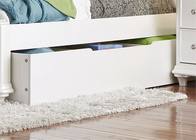 Liberty Furniture Stardust Iridescent White Youth Trundle Unit-710-BR11T