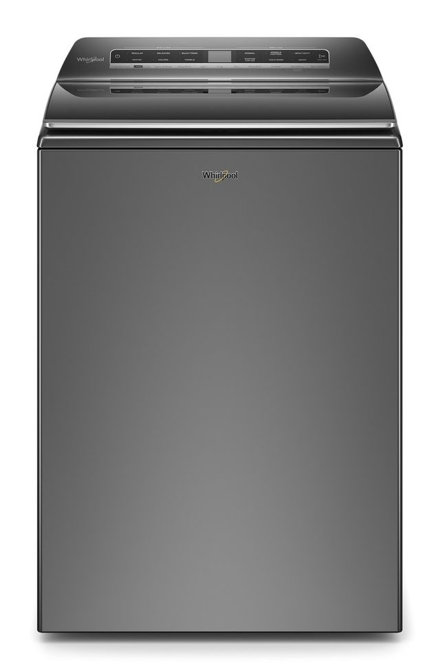 Whirlpool® 6.1 Cu. Ft. Chrome Shadow Top Load Washer-WTW7120HC