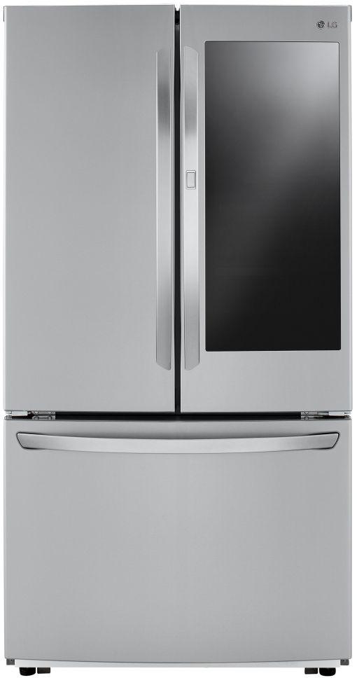 LG 27 Cu. Ft. PrintProof™ Stainless Steel French Door Refrigerator-LFCS27596S