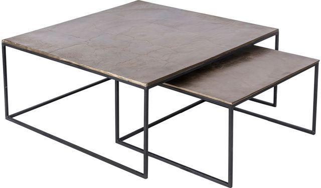 Tables gigognes carrée Threefold Renwil®-TA177