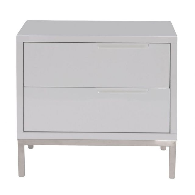 Table d'appoint Naples, blanc, Moe's Home Collections®-ER-1199-18