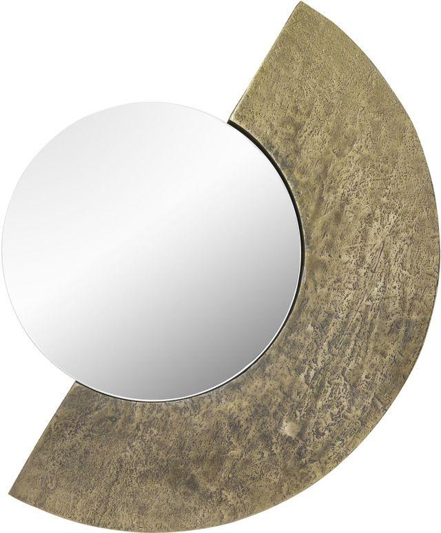 Miroir Plaqué Harrington, laiton antique plaqué, Renwil®-MT2375