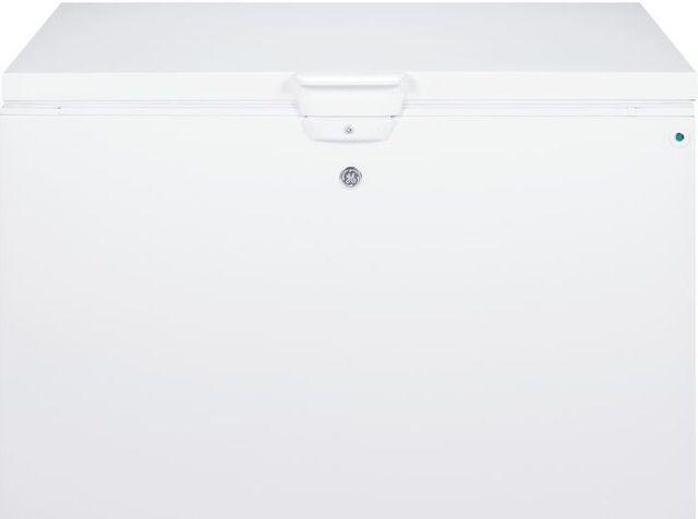 GE®14.8 Cu. Ft. Chest Freezer-White-FCM15DHWW