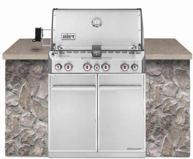 Weber® Summit® S-460™ Built-In Gas Grill-Stainless Steel-7160001