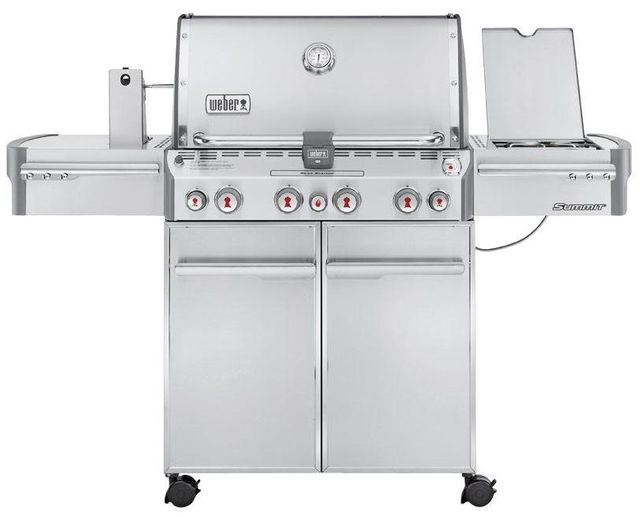 Weber® Summit® S-470™ Stainless Steel Gas Grill-7170001