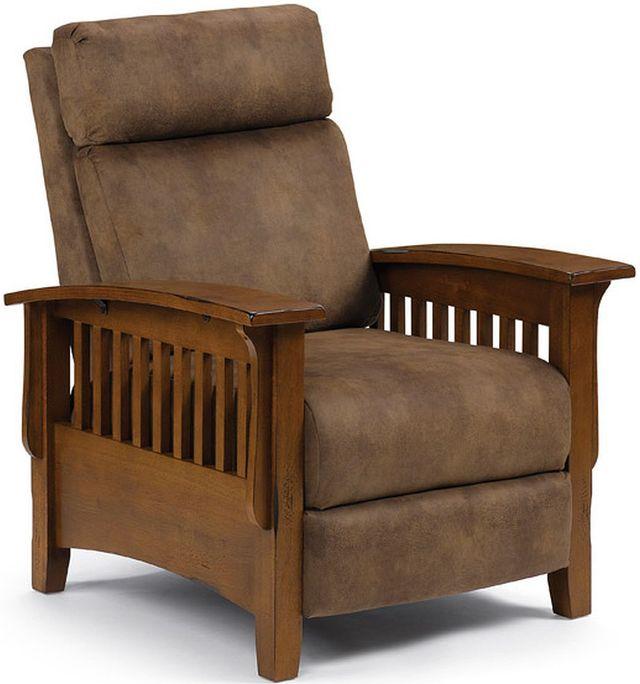 Best Home Furnishings® Tuscan Distressed Pecan Recliner-2L20DP