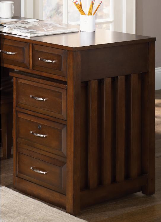 Liberty Furniture Hampton Bay Home Office-Cherry Mobile File Cabinet-718-HO146