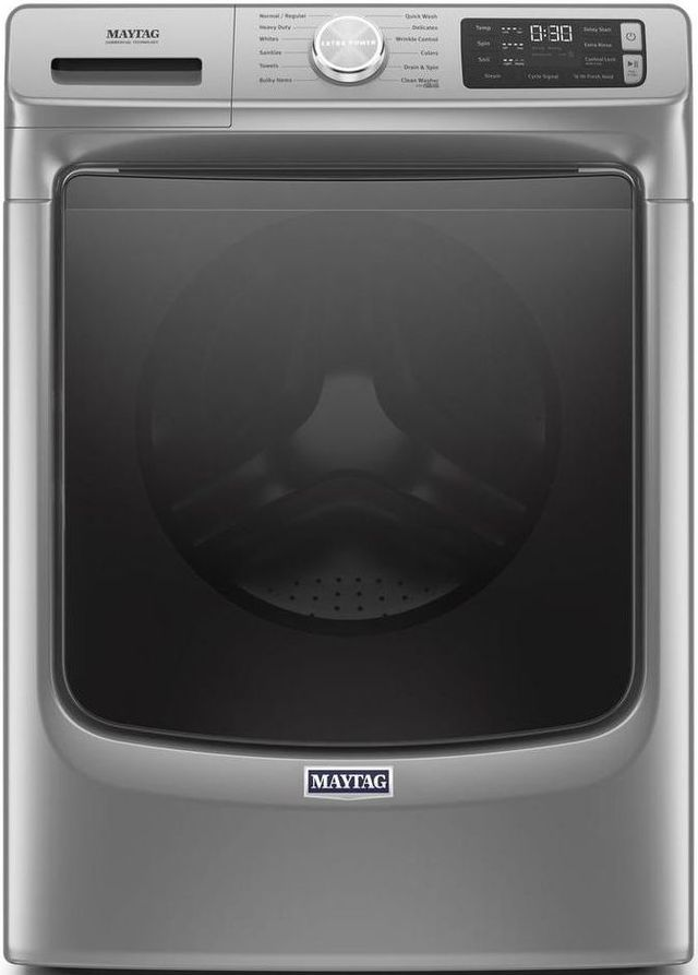 Maytag® 4.8 Cu. Ft. Metallic Slate Front Load Washer-MHW6630HC