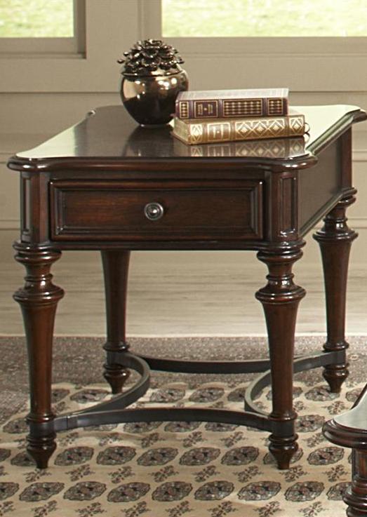 Liberty Furniture Kingston Plantation Cognac End Table-720-OT1020