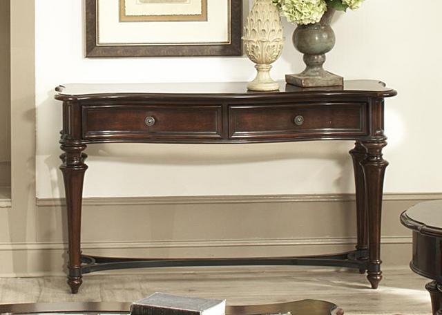 Liberty Furniture Kingston Plantation Cognac Sofa Table-720-OT1030