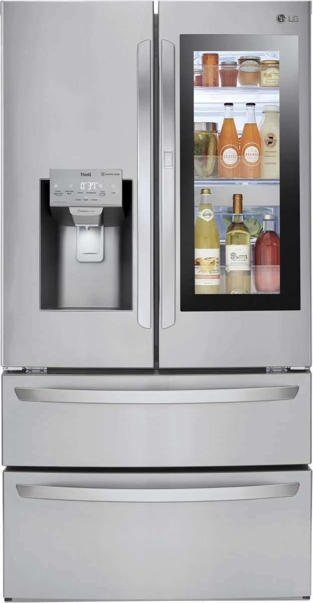 LG 27.60 Cu. Ft. Stainless Steel French Door Refrigerator-LMXS28596S