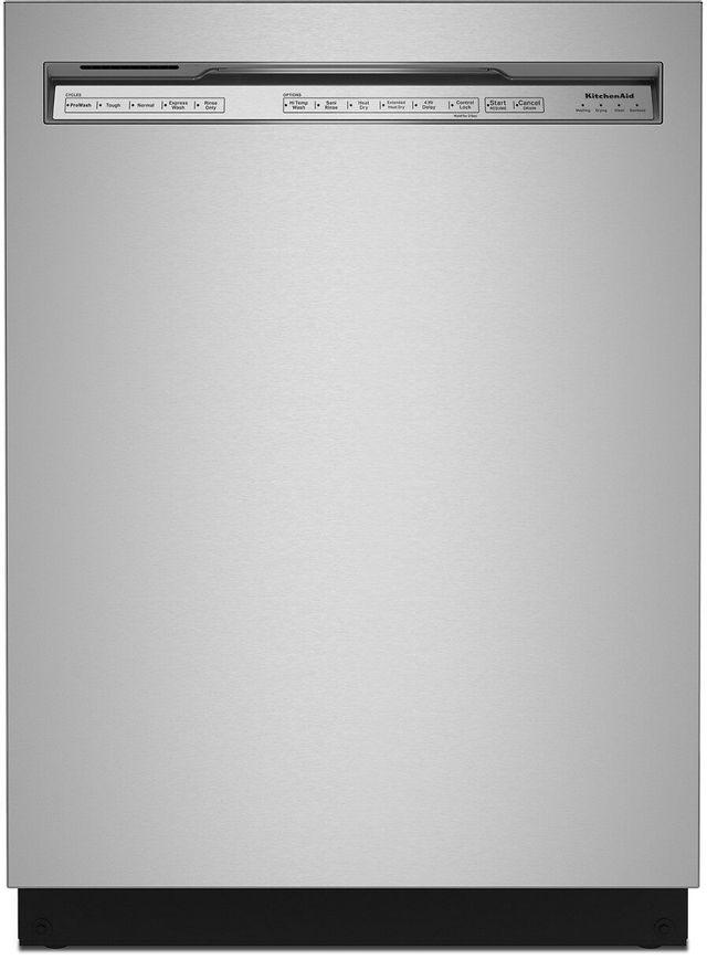 "KitchenAid® 24"" Stainless Steel with Printshield Built In Dishwasher-KDFE104KPS"