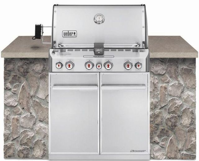 Weber® Summit® S-460™ Stainless Steel Built-In Gas Grill-7260001