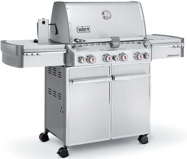 """Weber® Summit® S-470™ 66"""" Stainless Steel Gas Grill-7270001"""