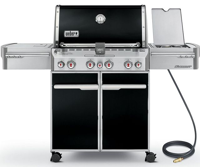 Weber® Summit® E-470™ Gas Grill-Black-7271001