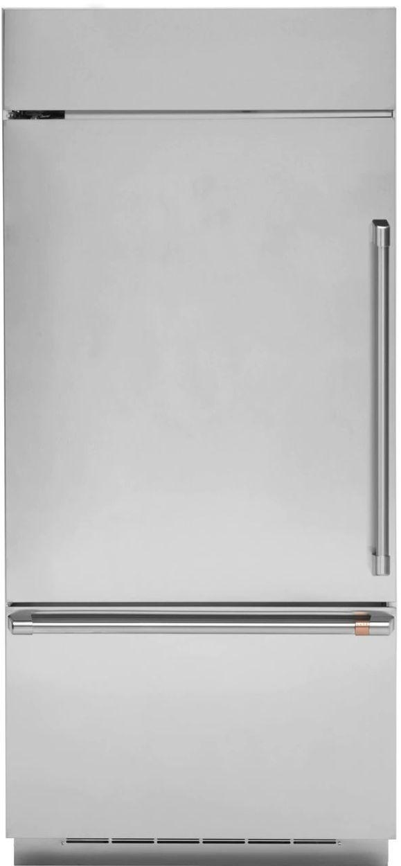 Café™ 21.3 Cu. Ft. Stainless Steel Built In Bottom-Freezer Refrigerator-CDB36LP2PS1