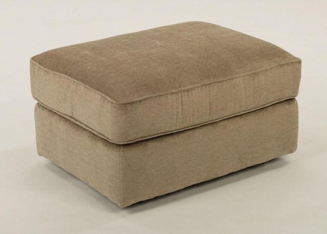 Flexsteel® Vail Fabric Ottoman-7305-08