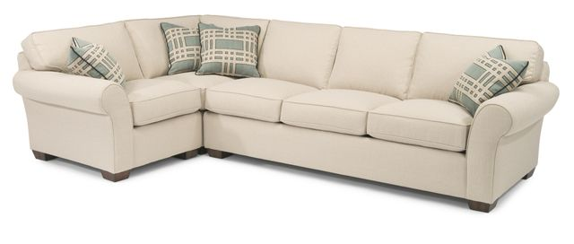 Flexsteel® Vail Fabric Sectional-7305-SECT