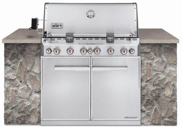 Weber® Summit® S-660™ Stainless Steel Built-In Gas Grill-7360001