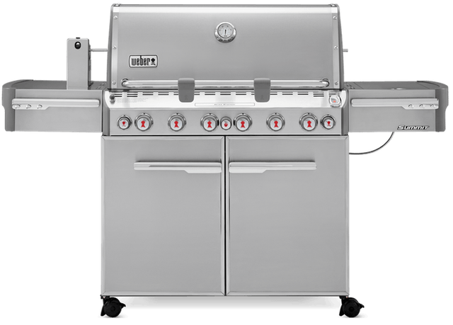 """Weber® Summit® S-670™ 74.1"""" Stainless Steel Gas Grill-7370001"""