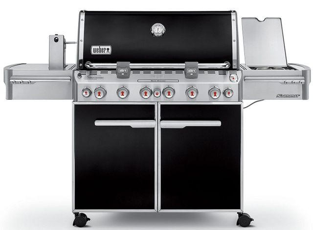 Weber® Summit® E-670™ Black Gas Grill-7371001