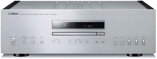 Yamaha® Silver Natural Sound CD Player-CD-S3000SL