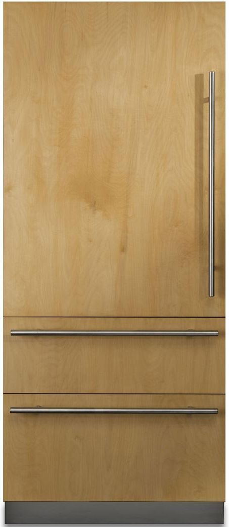 Viking® Professional 7 Series 20 Cu. Ft. Custom Panel Fully Integrated Bottom Freezer Refrigerator-FBI7360WL