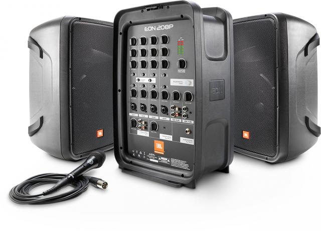 JBL® EON208P Portable PA System-JBL EON208P