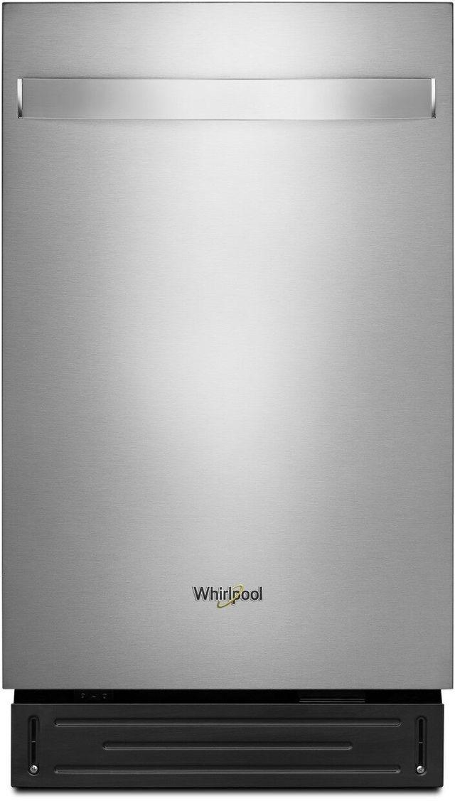"Whirlpool® 17.4"" Heritage Stainless Steel Dishwasher Panel-WDA518SHS"