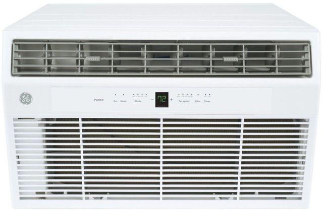 GE® 10,000 BTU's White Thru the Wall Built In Air Conditioner-AKCQ10ACH