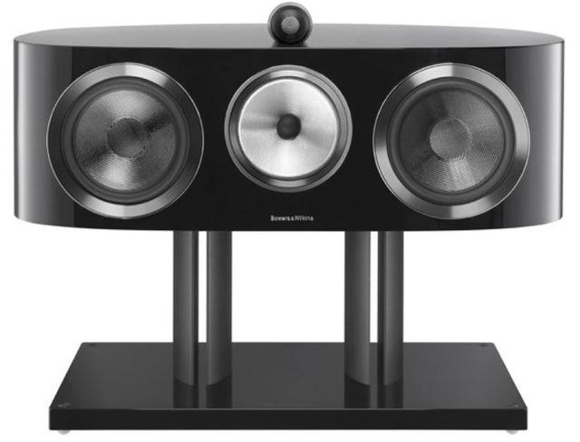 Bowers & Wilkins Gloss Black HTM1 D3 Centre Channel Speaker-HTM1 D3-Black